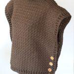 Sophia Poncho - Cowl neck poncho crochet pattern by Little Monkeys Design