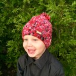 Crazy Jesse Winter Crochet Hat Pattern by Little Monkeys Design