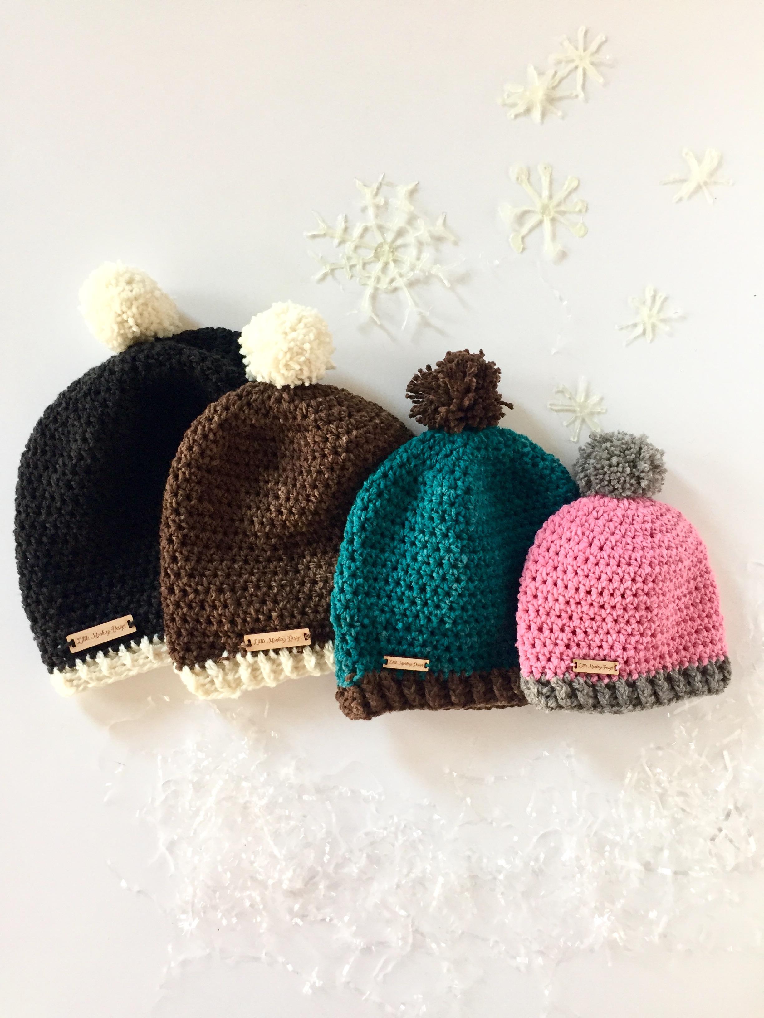 hello-winter-hats-by-little-monkeys-design