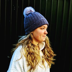 Urban Bean Hat Crochet Pattern by Little Monkeys Designs