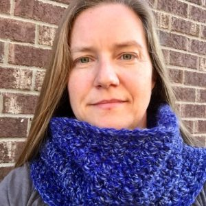 Snow Day Chunky Cowl crochet pattern by Little Monkeys Design.