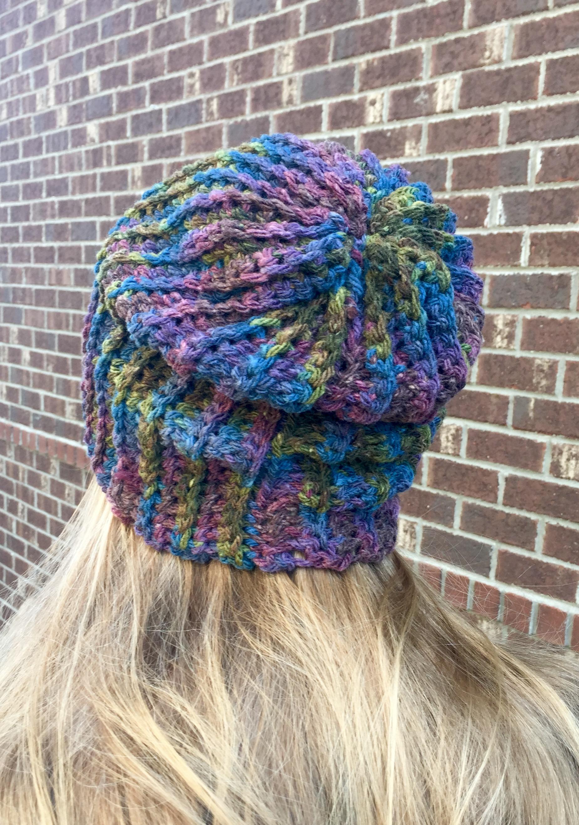 Urban Beanie Hat Crochet Pattern By Little Monkeys Designs