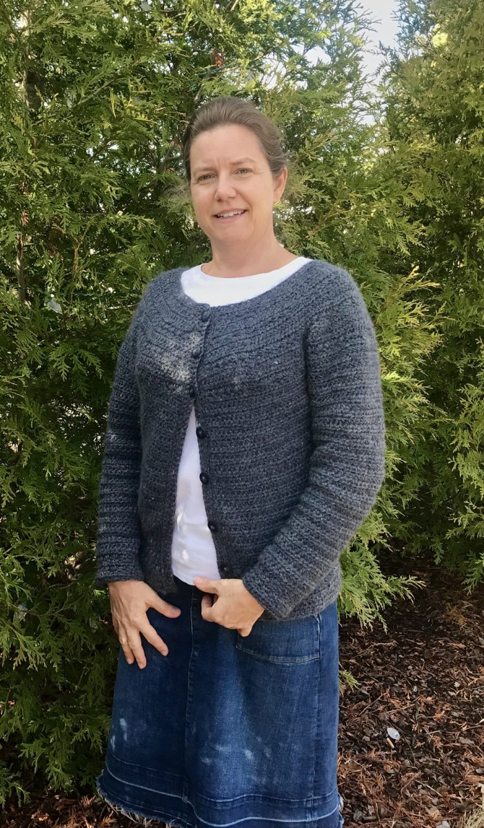 Stargazer cardigan crochet pattern by Little Monkeys Design 22