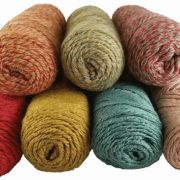 Natural Fiber Producers Suri Silk yarn for the One Love Shawl by Little Monkeys Design