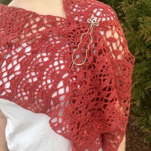One Love Shawl crochet pattern by Little Monkeys Design
