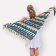 Vintage Summer Shawl crochet pattern by Little Monkeys Design