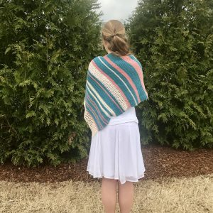 Vintage Summer Shawl crochet pattern by Little Monkeys Design