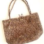 Beach Bound Straw Bag crochet pattern - beach tote crochet pattern by Little Monkeys Design