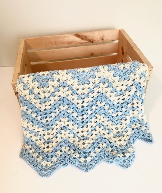 Dreamy Waves Chevron Baby Blanket Crochet Pattern By Little Monkeys