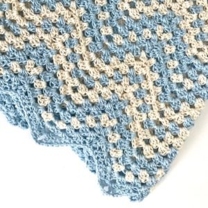 Dreamy Waves Chevron Baby Blanket kit - Chevron Baby Blanket crochet pattern