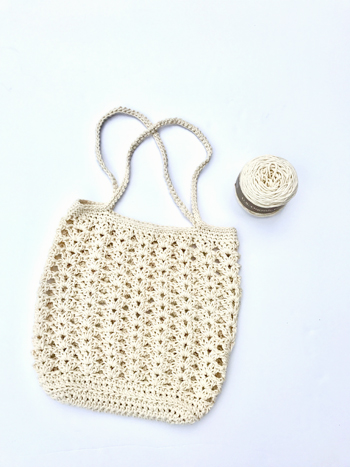 Farmers Market Bag Crochet Pattern Kit By Little Monkeys Designs