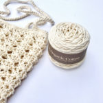Farmers Market bag crochet pattern by Little Monkeys Design - chunky organic cotton yarn by Appalachian Baby Design