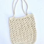 Farmers Market bag crochet pattern by Little Monkeys Design - easy crochet pattern - crochet bag pattern