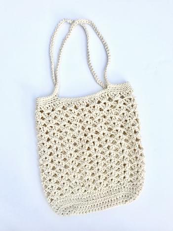Farmers Market Bag Crochet Pattern By Little Monkeys Designs