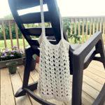 Farmers Market bag crochet pattern by Little Monkeys Design - quick crochet project