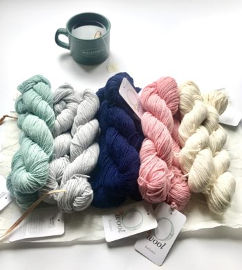 O-wool Balance yarn for Perfection crochet baby blanket kit