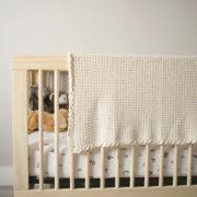 Pure Love baby blanket crochet pattern - crochet baby blanket pattern - baby blanket crochet pattern kit - natural organic cotton baby blanket by Little Monkeys Design