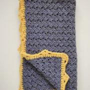 Royal Baby Blanket crochet pattern by Little Monkeys Design - crochet pattern baby blanket - baby blanket crochet pattern kit