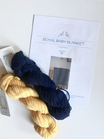 Royal Baby Blanket kit