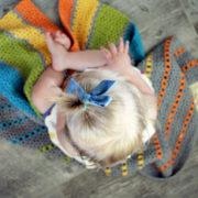 Sea of Colors baby blanket crochet pattern - modern ombre crochet baby blanket pattern - modern baby blanket crochet kit - modern baby blanket - modern baby blanket crochet pattern