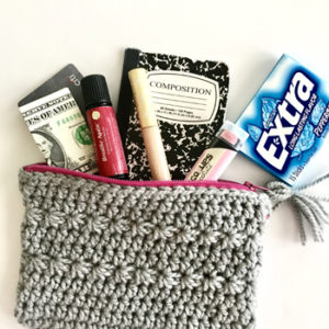 Star Clutch crochet pattern by Little Monkeys Design - perfect evening out clutch