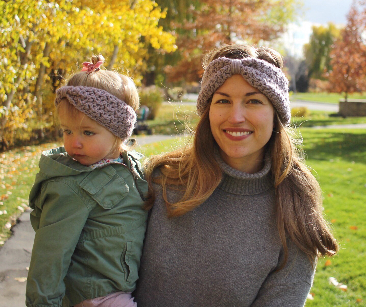 Ava Ear Warmers for mom and baby