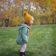Snowballs Bonnet crochet pattern - puff stitch baby bonnet crochet pattern by Little Monkeys Design