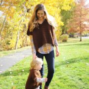 Harper Poncho crochet pattern in sizes for little girls thru women - boho poncho crochet pattern by Little Monkeys Design
