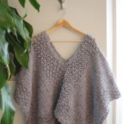Lacy Poncho crochet pattern - crochet poncho pattern - crochet pattern poncho by Little Monkeys Design