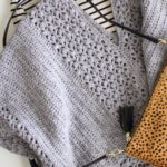 Lacy Poncho crochet pattern for girls and women - crochet pattern poncho - modern poncho crochet pattern by Little Monkeys Design