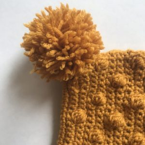 Snowballs Bonnet crochet pattern by Little Monkeys Designs