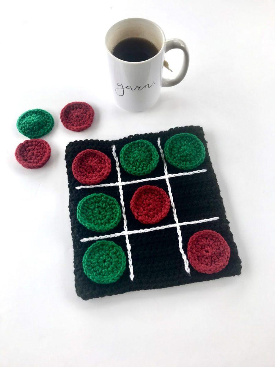 Tic Tac Toe Board by Little Monkeys Design