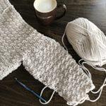 Super Cozy Pullover sweater crochet pattern by Little Monkeys Design - cozy womens sweater - first sweater pattern