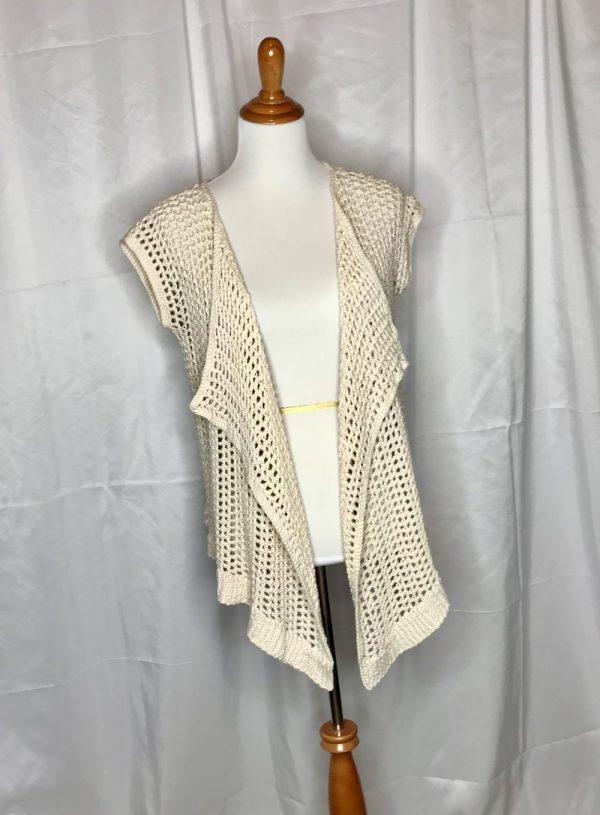 Breezy Summer Vest crochet pattern