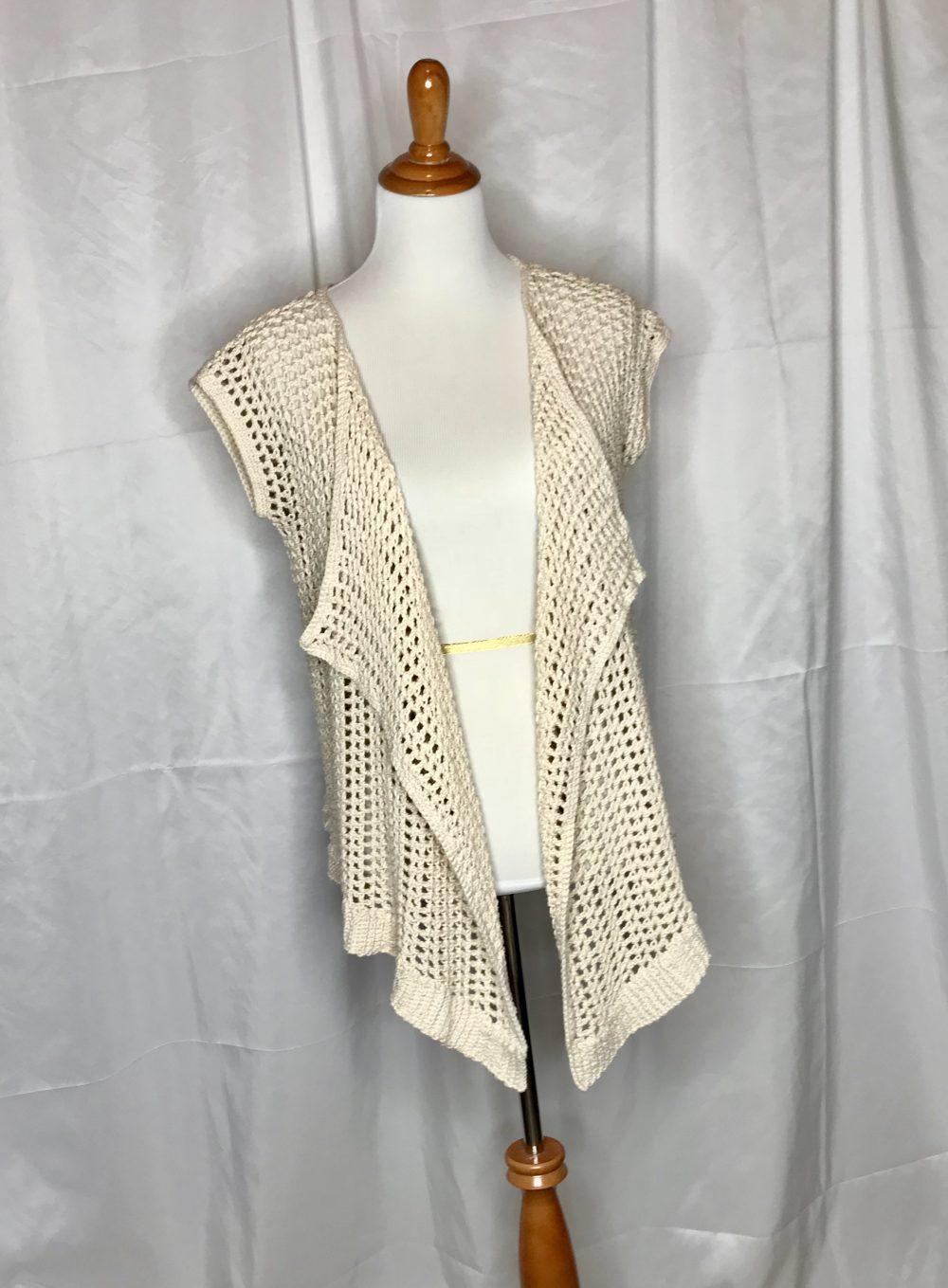 Summer Mesh Vest crochet pattern by Little Monkeys Design