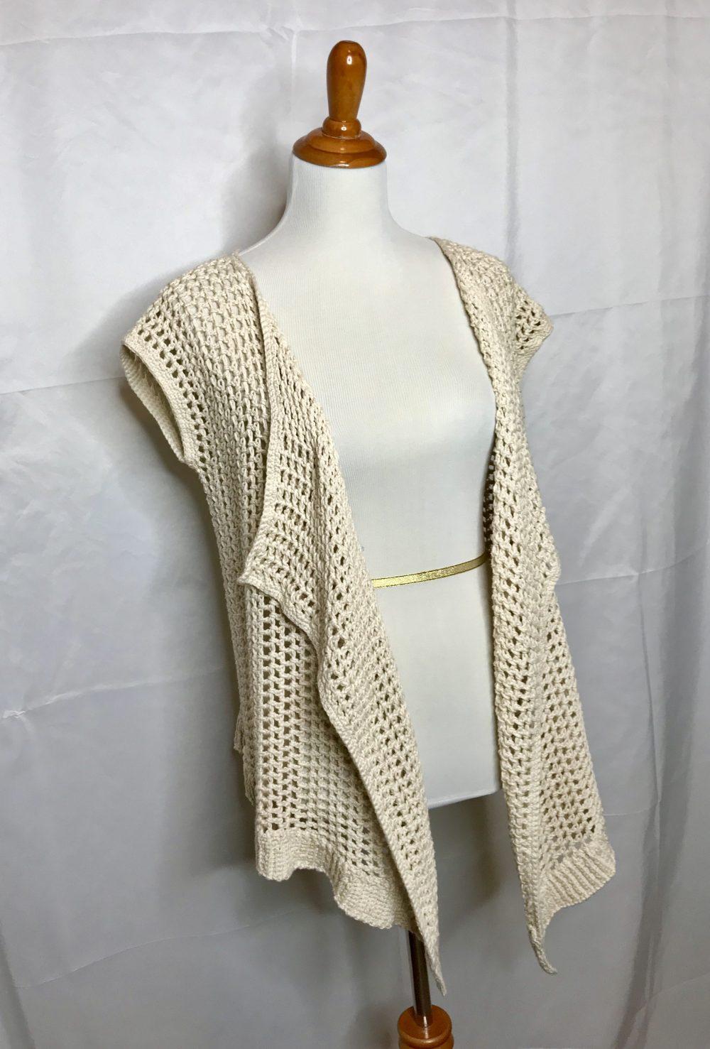 Breezy Summer Vest Crochet Pattern By Little Monkeys Designs