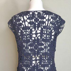 Paris in Summer cardigan crochet pattern by Little Monkeys Design