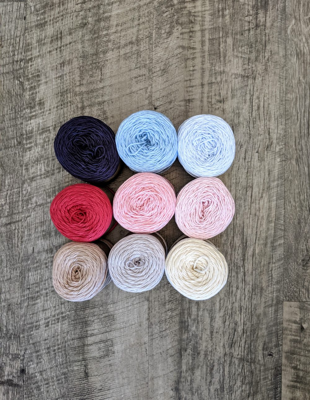 Appalachian Baby Design Organic Cotton yarn