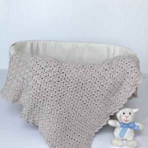Oh, So Sweet baby blanket crochet pattern by Little Monkeys Design.