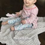 Oh, So Sweet baby blanket crochet pattern - heirloom style baby blanket crochet pattern by Little Monkeys Design