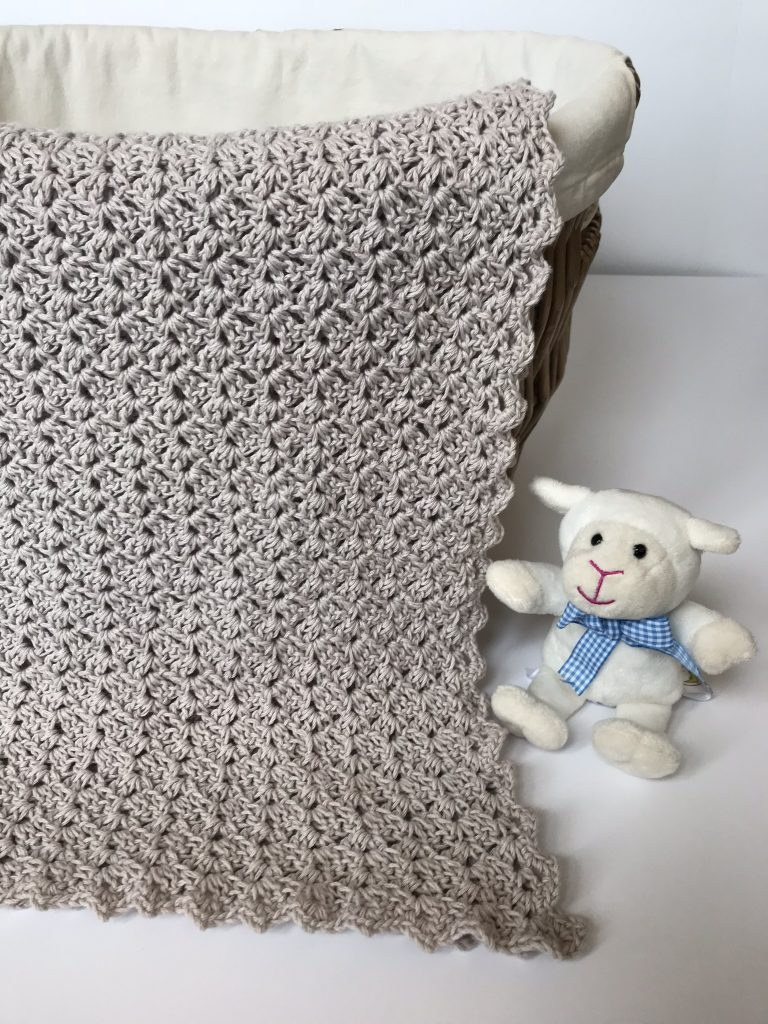 Baby Blanket Crochet Pattern Kit For The Oh So Sweet Baby