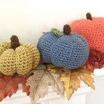 Pumpkins Crochet Pattern by Little Monkeys Design - cotton pumpkins