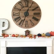 Pumpkins Crochet Pattern by Little Monkeys Design - modern farmhouse fall decoration