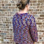 Autumn Nights Cardigan crochet pattern by Little Monkeys Designs - 3/4 length sleeves