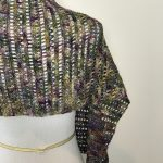 Harvest Warmth Modern Shawl crochet pattern by Little Monkeys Designs - easy crochet stitches
