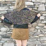 Harvest Warmth Modern Shawl crochet pattern by Little Monkeys Designs - easy shawl crochet pattern
