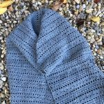 Harvest Warmth Shawl or Scarf crochet pattern by Little Monkeys Designs, in worsted weight yarn