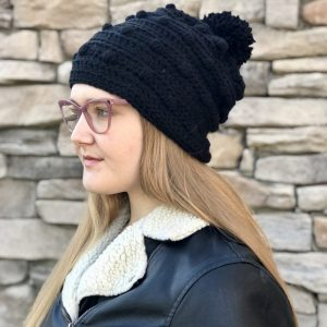 Snow Drifts Hat crochet pattern by Little Monkeys Designs - black girls hat crochet pattern - Wrapped up in Warmth collection of crochet patterns
