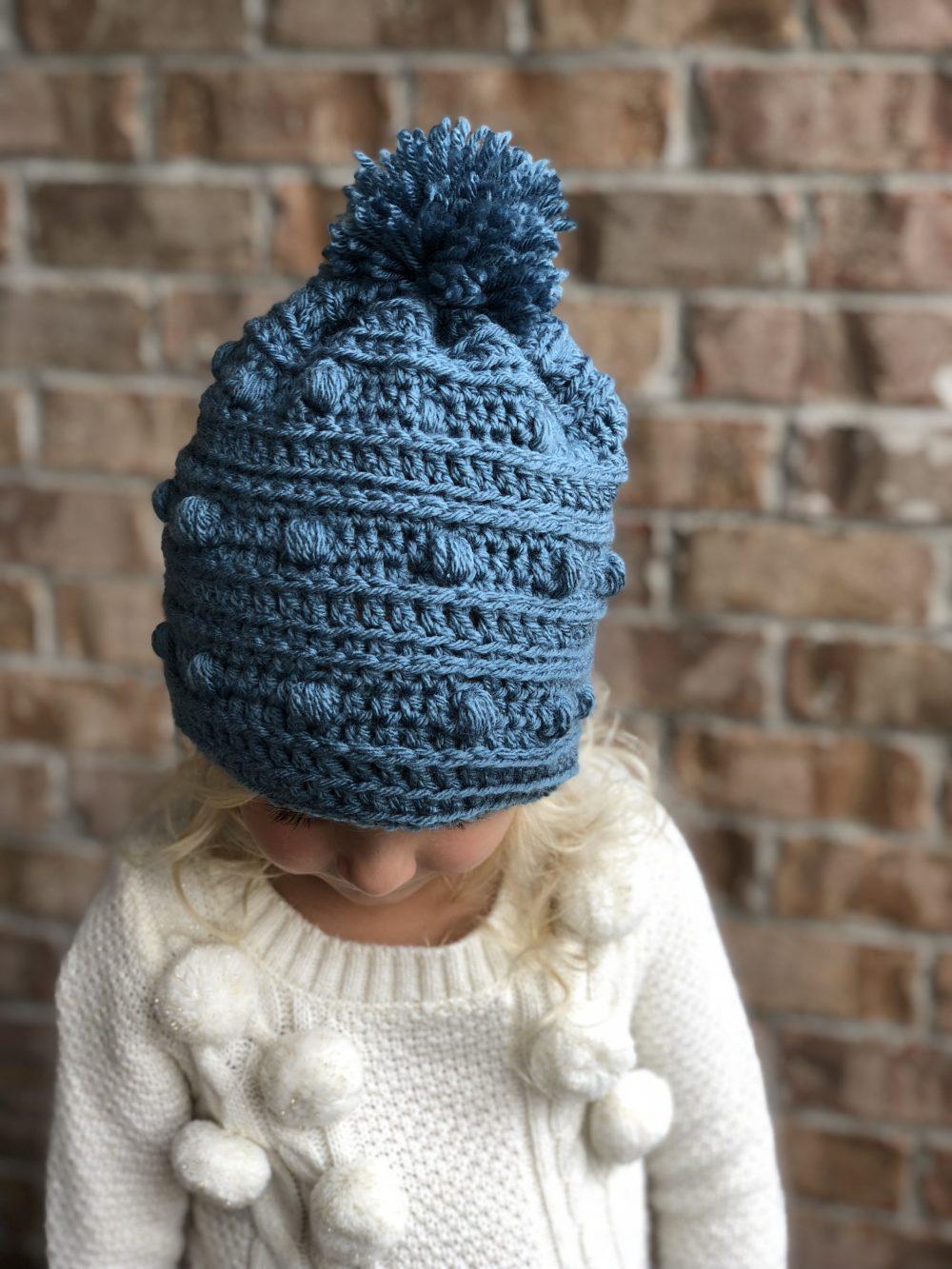 Snow Drifts Hat Crochet Pattern By Little Monkeys Designs