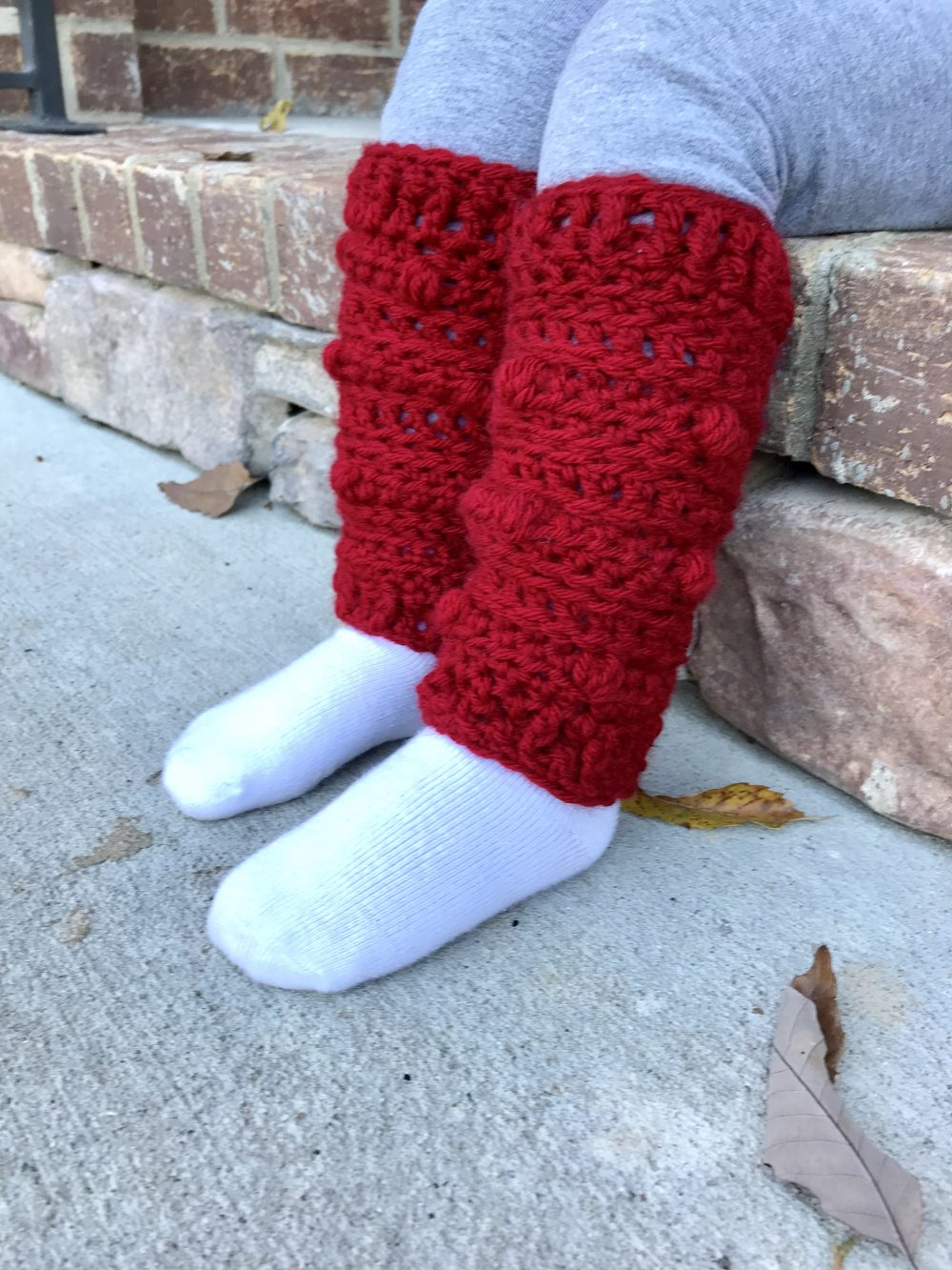 Snow Drifts Leg Warmers crochet pattern by Little Monkeys Designs – boot socks crochet pattern